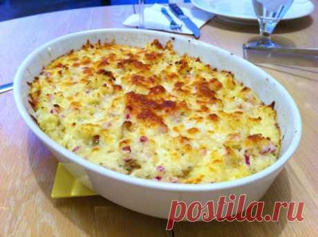 Слоёная картошка «Секретное оружие» - всемирно любимое блюдо