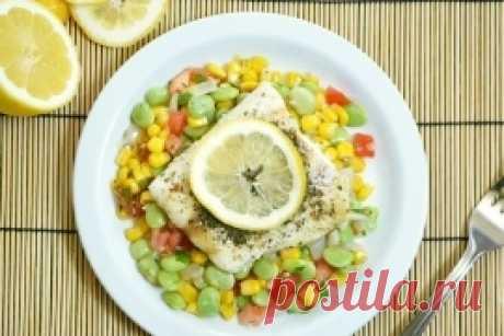 Летний вкусный и очень полезный салатик с фасолью и кукурузой