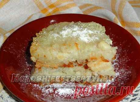 Рисовая запеканка сладкая