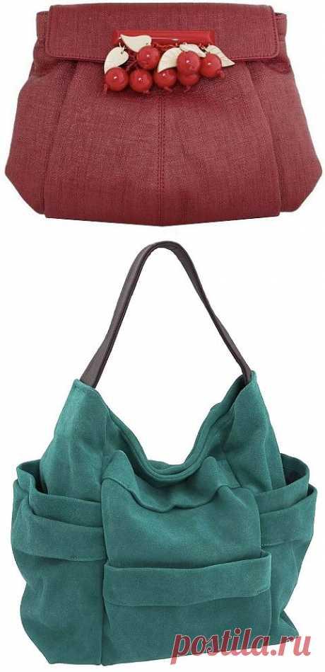 Шьем сами сумки от Beckon и Stella McCartney / Сумки, клатчи, чемоданы / Модный сайт о стильной переделке одежды и интерьера