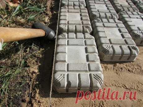 Изготовление тротуарной плитки своими руками | Ровная дорога | Яндекс Дзен