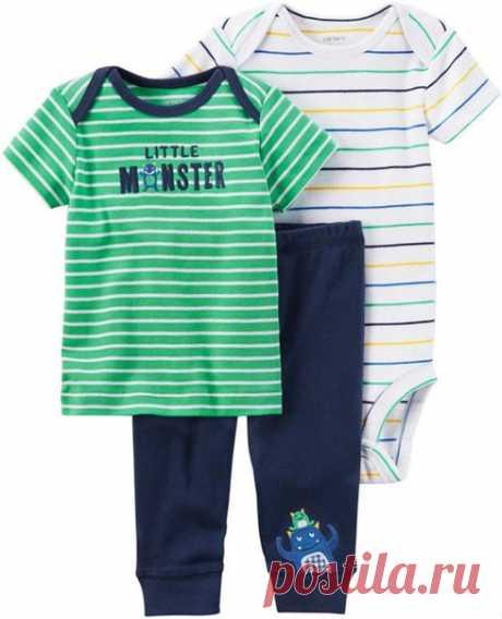 Выкройки футболки и штанишек для малышей #Готовые_выкройки на рост 62-92 #шьем_для_детей