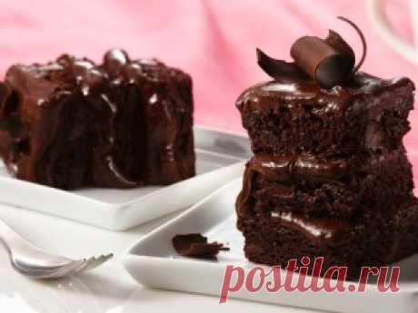 Быстрый пирог на кефире с шоколадом   Тут еда и лучшие рецепты