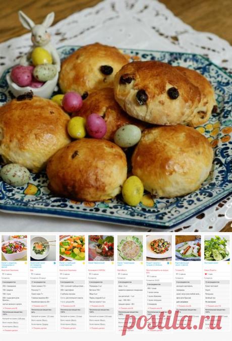 Пасхальные булочки с творогом | Едим Дома | SMARTMEAL.RU