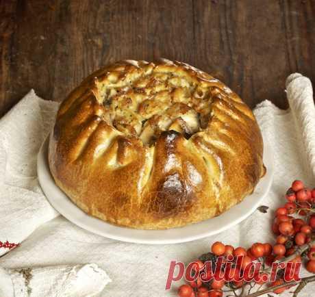 Рецепт традиционного русского пирога - Курника | Журнал Домашний очаг