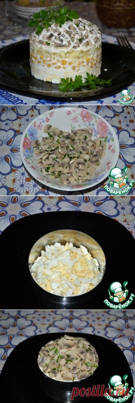 "Салат ""Мошенница"" – кулинарный рецепт"