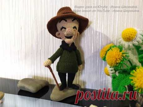Мистер Магу, ч.3. Mr. Magoo, р.3. Amigurumi. Crochet. Вязать игрушки, амигуруми.