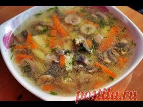 Пшенный суп с грибами - пошаговый рецепт с фото на Повар.ру