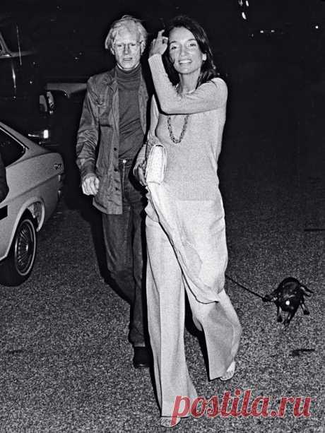 Lee+Radziwill+and+Andy+Warhol.jpg (600×800)