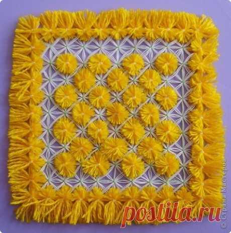 Мастер класс по плетению салфеток