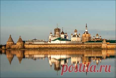 La excursión en el monasterio Solovetsky