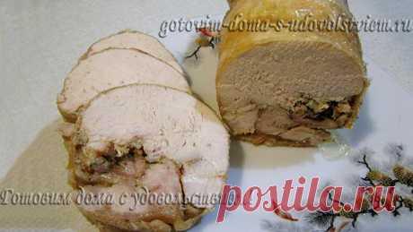 Рулет куриный в духовке - как приготовить лучшие рецепты