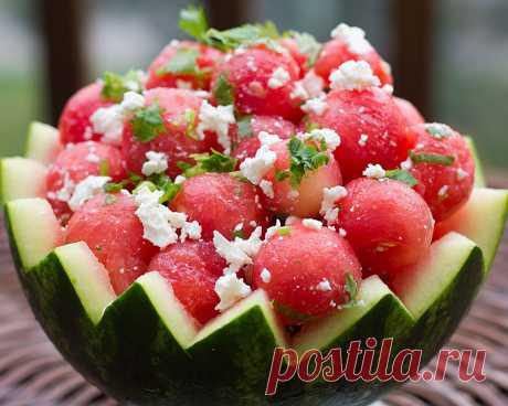 Аппетитные десерты из арбуза - 12 рецептов
