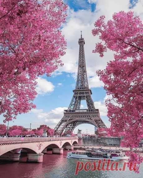 ༺🌸༻Париж, Франция.