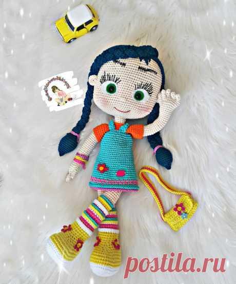 PDF мастер-класс по вязанию куклы Висспер амигуруми #схемыамигуруми #амигуруми #вязаныеигрушки #вязанаякукла #amigurumipattern #crochetdoll #amigurumidoll
