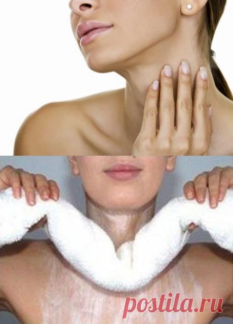 Народная медицина против морщин на шее