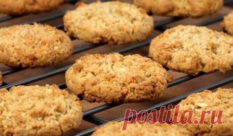 Овсяное печенье - пошаговый рецепт с фото из овсяных хлопьев