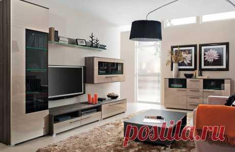 Модульная мебель для маленькой гостиной   Luxury House   Пульс Mail.ru Гостиная – место, где часто собирается вся семья за просмотром фильма, или устраиваются посиделки с друзьями. В некоторых квартирах, гостиная...