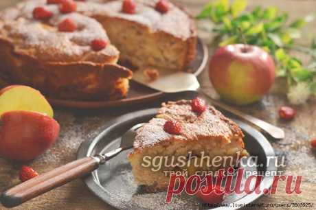 Пирог с яблоками — вкуснее шарлотки и легче готовить