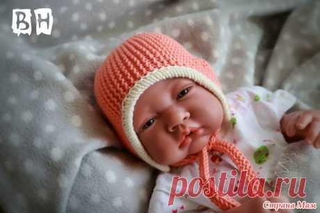 Шапочки для новорожденного - Вязание - Страна Мам