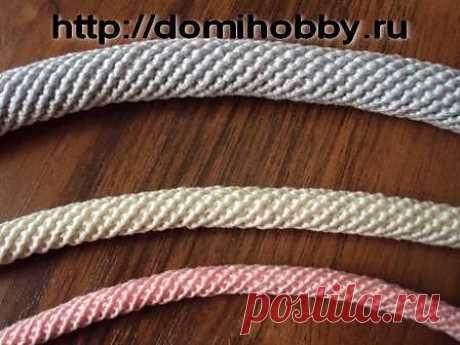 Вязание жгута крючком