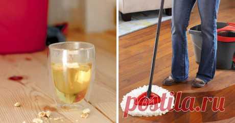 Домашние средства для уборки дома.