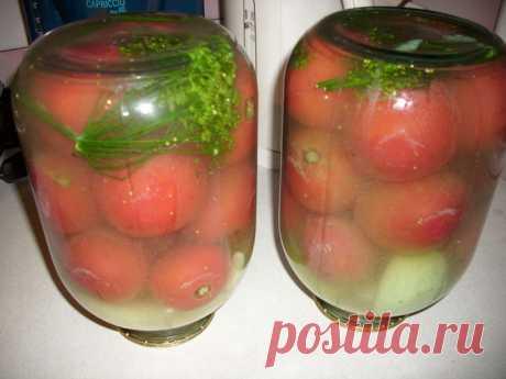 Бочковые помидоры в банке