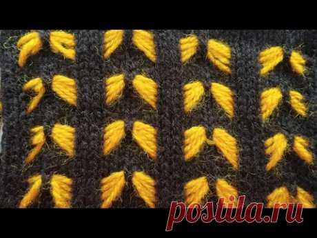Two color Knitting pattern in knitting machine #32(निटिंग मशीन में  दो कलर का निटिंग डिजाइन #32)