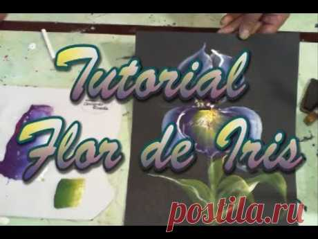Tutorial Flor Iris