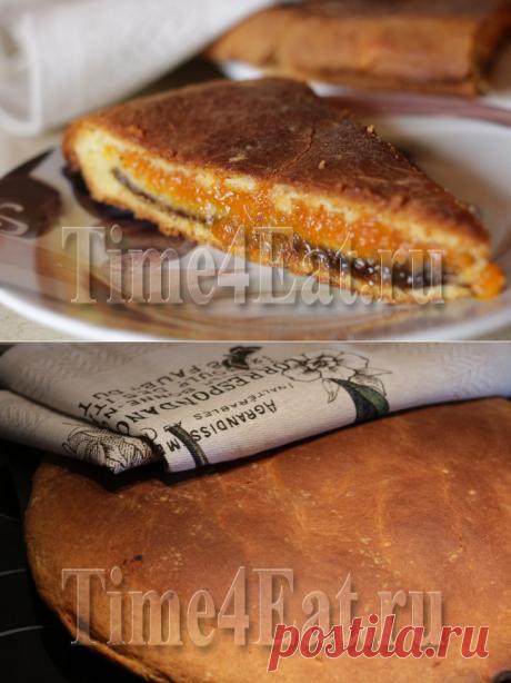 Пирог с курагой и черносливом | Пора перекусить!