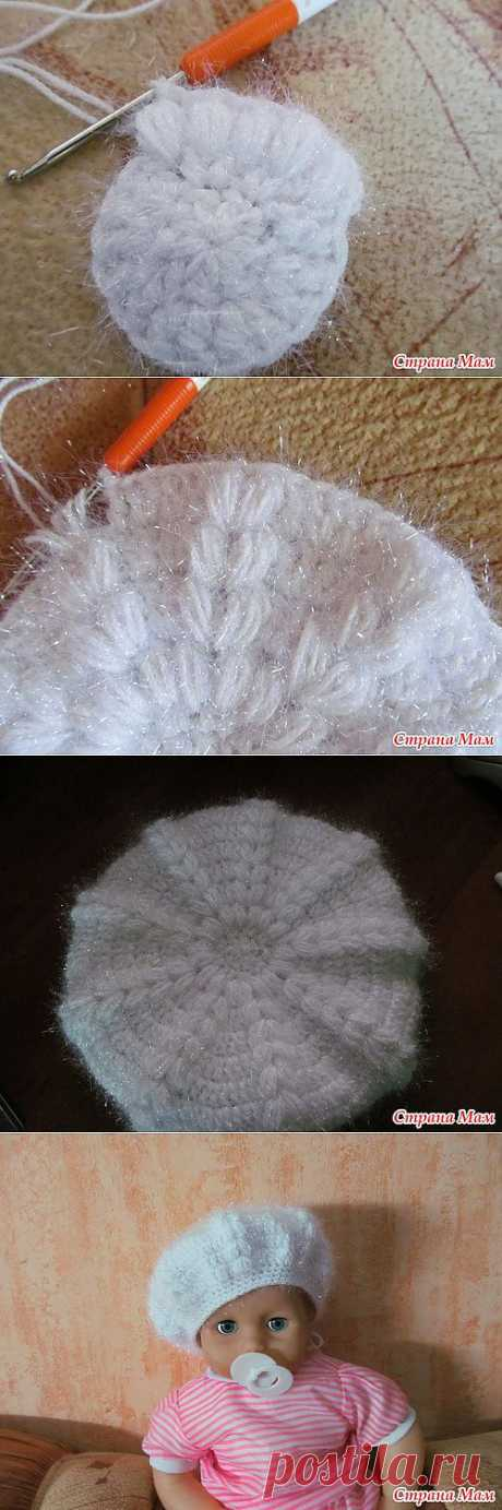 вязания берета МК.