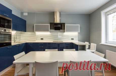 П-образная кухня - 7 примеров дизайна