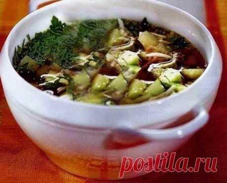 La okroshka de hortalizas