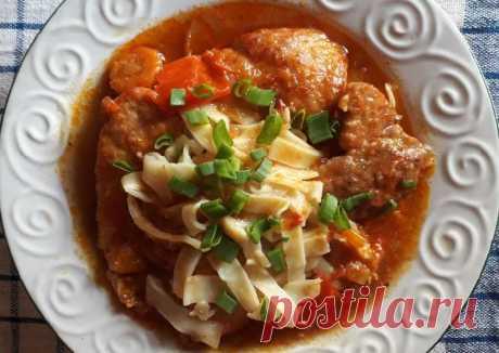(5) Лагман по-рижски с домашней лапшой📌 - пошаговый рецепт с фото. Автор рецепта Анечка Бусина . - Cookpad