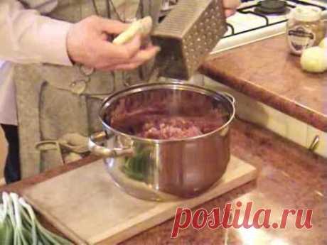 Lyulya-kebab (en el horno) del Tío Yashi