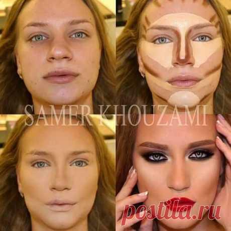 Красивые, правда? А теперь посмотрите на них без макияжа!