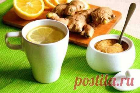 Чай с имбирем для похудения.