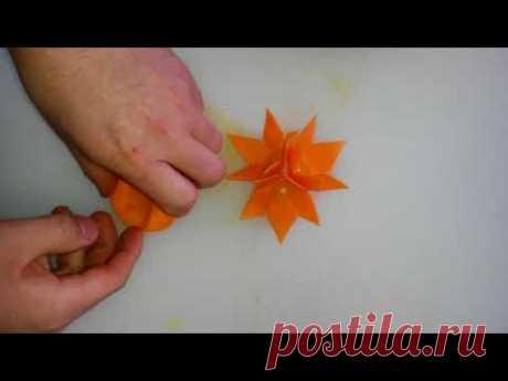 Украшения из моркови