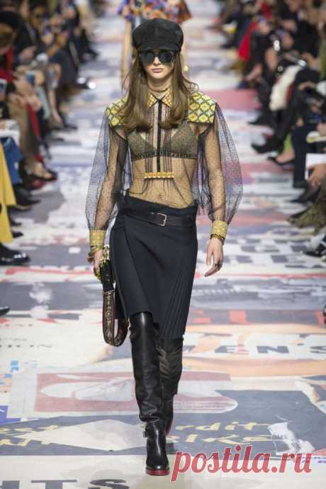 Женские блузки ОСЕНЬ-ЗИМА 2018-2019: модные тенденции и тренды
