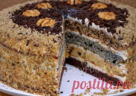"""Изумительно Вкусный Торт """"Дамский каприз"""" или Торт """"Сметанник"""" - пошаговый рецепт с фото. Автор рецепта MaryanaTastyFood . - Cookpad"""
