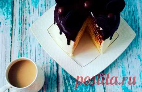 Рецепт торта Молочная девочка - Milch Mädchen