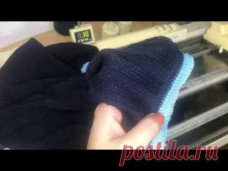 Кетлёвка деталей/кетлевка в карман/машинное вязание