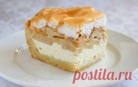Как приготовить творожно-яблочный пирог. - рецепт, ингредиенты и фотографии