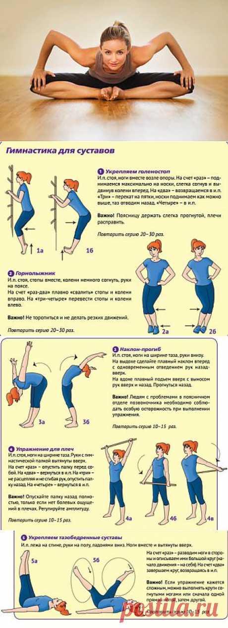 Упражнения для укрепления суставов | Твоя Фигура