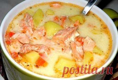 Рецепты 5-ти самых обалденных супчиков! Возьмите на заметку эти вкусняшки! 1. Финский суп с лососем ...
