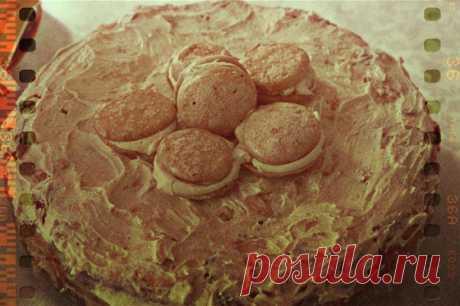 Торт с творожным кремом и меренгами рецепт – выпечка и десерты. «Еда»