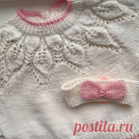 Для двухлетней малышки | Вязание спицами для детей
