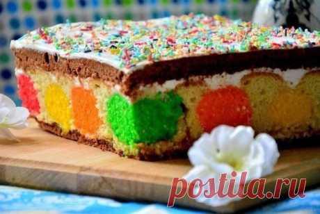Яркая, многоцветная, праздничная выпечка — Пляцок — Фактор Вкуса