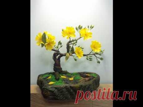 Como hacer artificial el árbol bonsay - Craft el Libro de texto