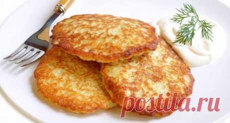 Как приготовить белорусские картофельные драники без муки и яиц 🚩 Кулинарные рецептыы